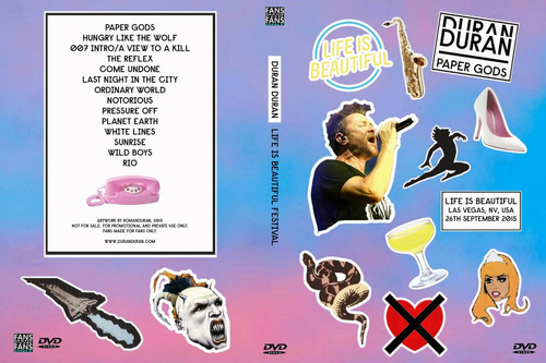 duran duran live in las vegas bluray