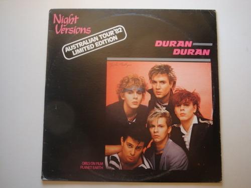 duran duran night versions 12  vinilo austr 82 mx