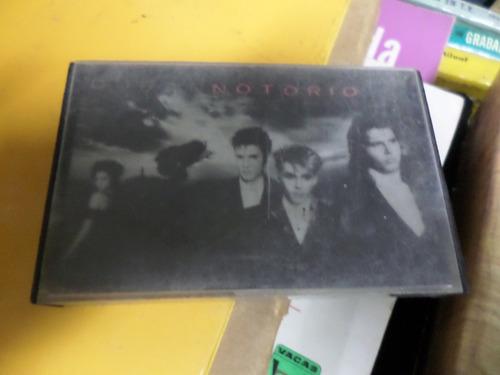 duran duran-notorio  - cassette
