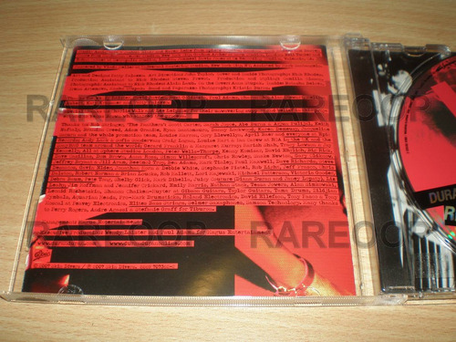 duran duran red carpet massacre (cd) (arg) promo consultar