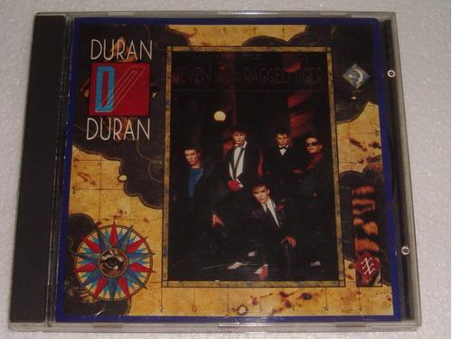 duran duran seven and the ragged tiger cd importado