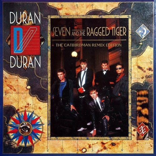 duran duran - seven and the ragged tiger cd nuevo importado