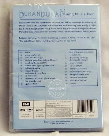 duran duran-sing blue silver tour (dvd)