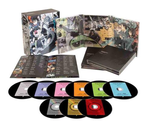durarara!! blu-ray disc box edición importada