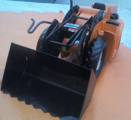 duravit pala mecanica excavadora maquina restaurada
