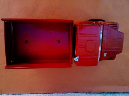 duravit scania 112 h caja de chapa restaurado leer