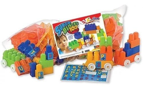 duravit super blocks 100 bloques grande juguetería el pehuén