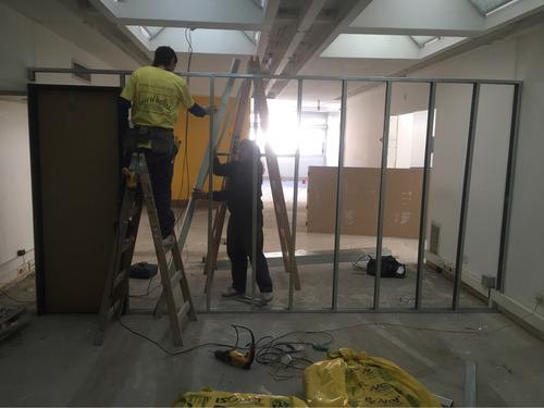 durlock , construcción en seco , cielorraso , tabiques