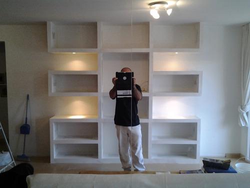 durlock;cielorrasos,tabiques,bibliotecas,estantes