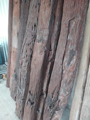 durmientes madera rustica masisa antigua
