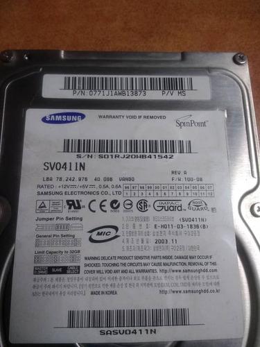 duro 40gb disco