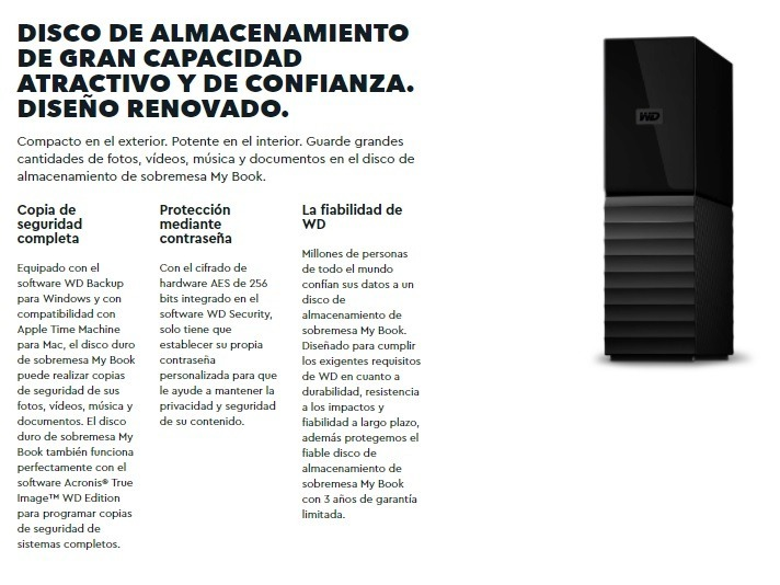 Western Digital Wd My Book Disco Duro Externo 6tb