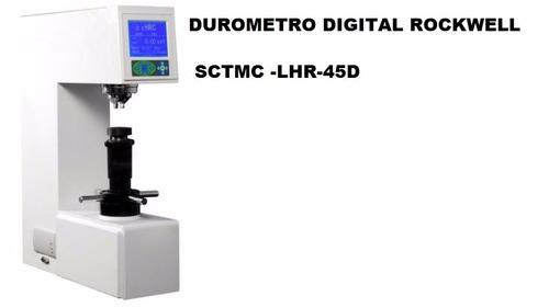 durometro rockwell digital