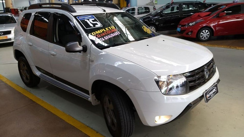 duster 2.0 dynamique tech road 2015 impecável,super completa