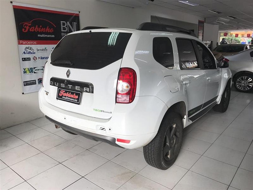 duster 2.0 tech road 2015 automatica branca linda mesmo top