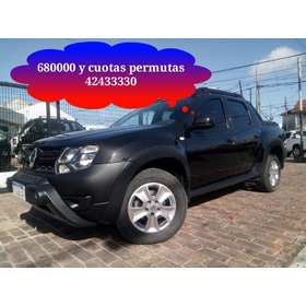 Duster Oroch 2017 39000 Km Impecable