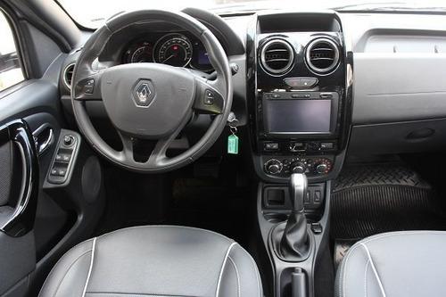 duster oroch automático 2.0 carro bom sem entrada uber score