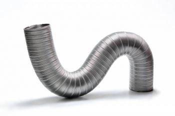 duto de aluminio semi-flexivel diam. 137mm c/3mts