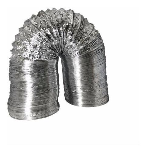 duto flexível de alumínio 30cm exaustão - 10 metros