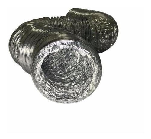 duto flexível de alumínio 30cm exaustão - 5 metros