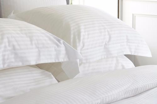 duvet sencillo stripe+plumón+funda+sábana ajustable 4 pzas