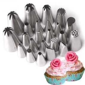 Duyas Boquilla Rusas 1 Pieza 12 Tipos Decorar Pastel Cupcake
