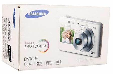 dv150 camara digital samsung 16,2 mp doble pantalla y wifi