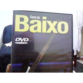 Dvd - Curso De Baixo