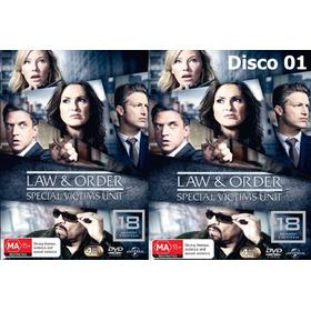 Dvd - Law And Order:svu - As 20 Temporadas - Legendado