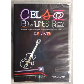 Dvd + Cd Celso Blues Boy Ao Vivo Frete Grátis Original