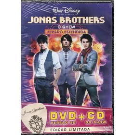 Dvd + Cd Jonas Brothers O Show Versão Estendida Novo Lacrado