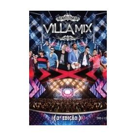 Dvd + Cd Villa Mix - 3ª Edição (lacrado)