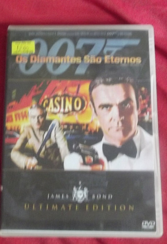 dvd 007- os diamantes são eternos