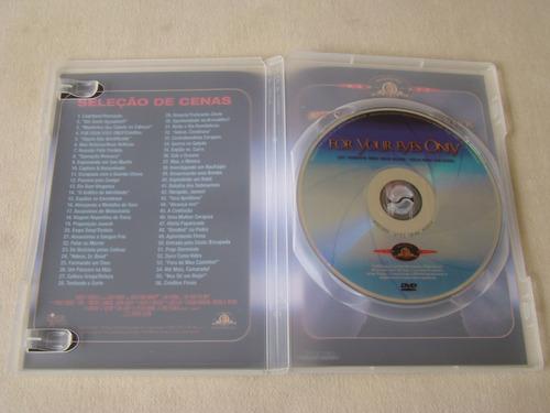 dvd - 007 somente para os seus olhos