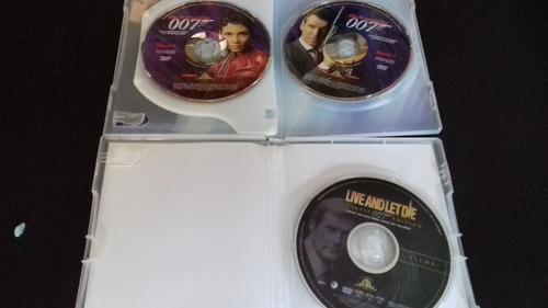 dvd 007 um novo dia para morrer (duplo) + 007 viva e deixe