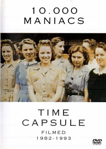 dvd 10.000 maniacs - time capsule filmed 1982-1993