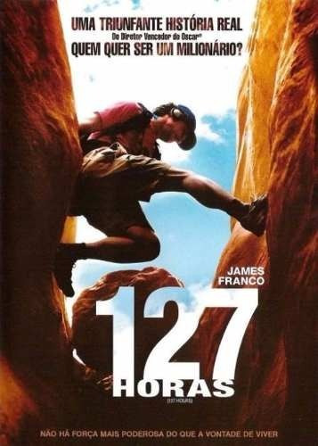 dvd - 127 horas - james franco - lacrado