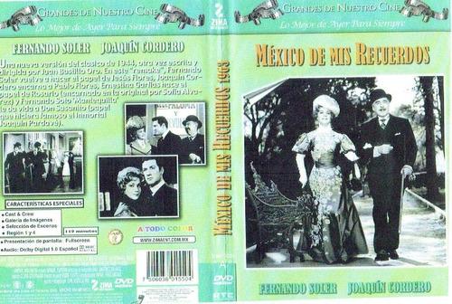 dvd 1963 mexico de mis recuerdos soler y cordero envio grati