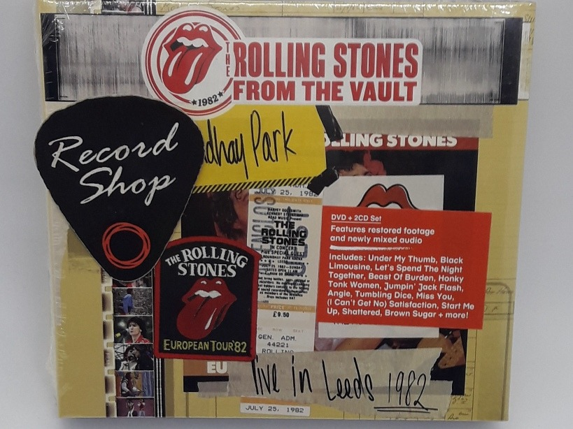 Dvd +2 Cd Set The Rolling Stones From The Vault Live In 1982