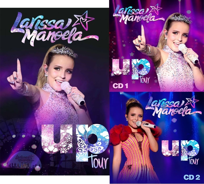 afa3a83867675 Dvd + 2 Cds Larissa Manoela Up Tour - Pronta Entrega! - R  89