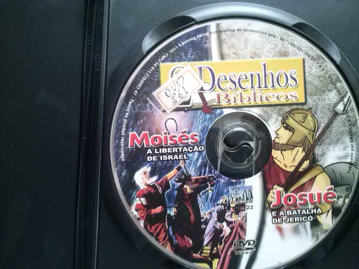 Dvd 2 Desenhos Biblicos Moises E Josue R 12 70 Em Mercado Livre