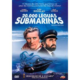 Dvd 20000 Leguas Submarinas Kirk Douglas Original Lacrado