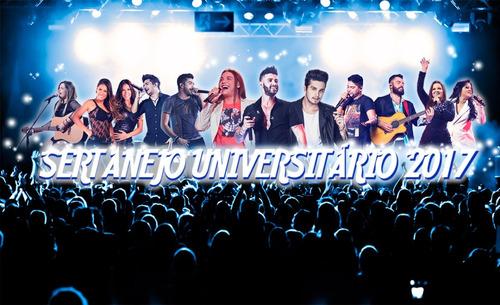 dvd 2017 musicas karaokê atuais sertanejo universitário cd