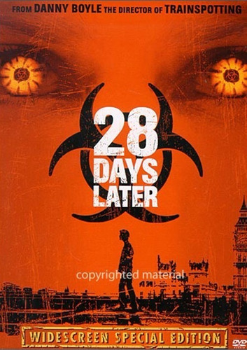 dvd 28 days later / exterminio