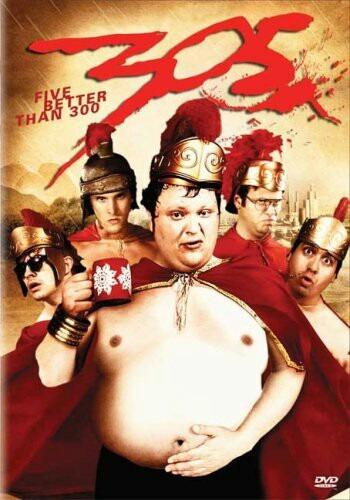 dvd 300 parodia