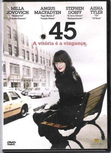 dvd - 45 a vitória é a vingança