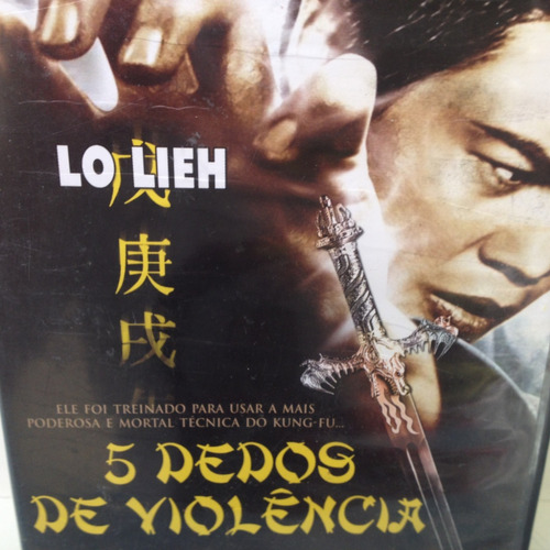 dvd - 5 dedos de violência - lo lieh