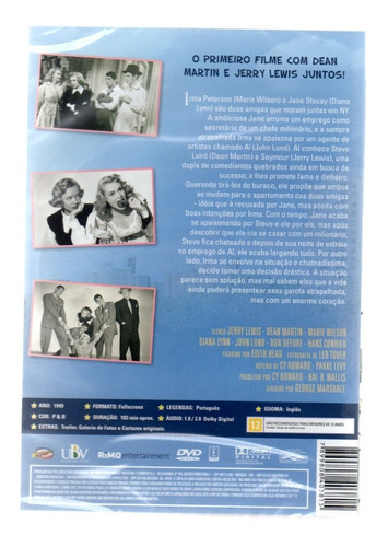 dvd a amiga da onca jerry lewis - classicline bonellihq l19