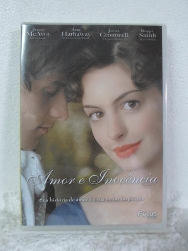dvd a amor & inocencia - lacrado - original