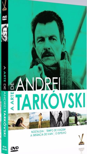 dvd a arte de andrei tarkovski -  box 2 dvds - 4 filmes +